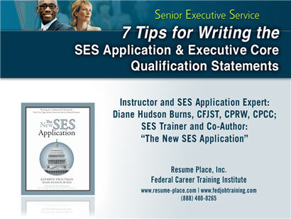 7 tips for writing the ses application ecq s