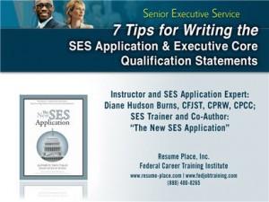 sample ses resume